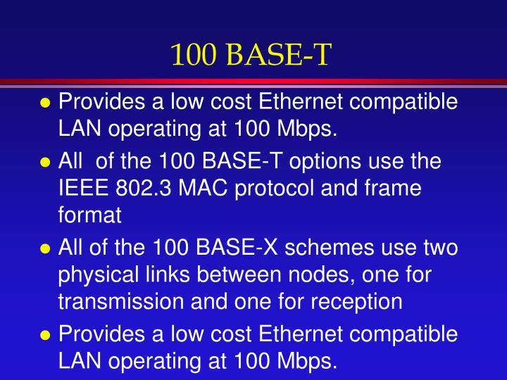 100 BASE-T