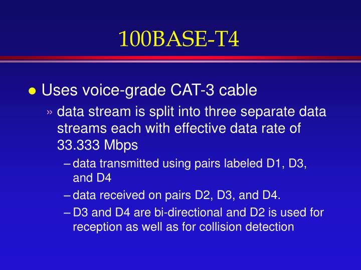 100BASE-T4
