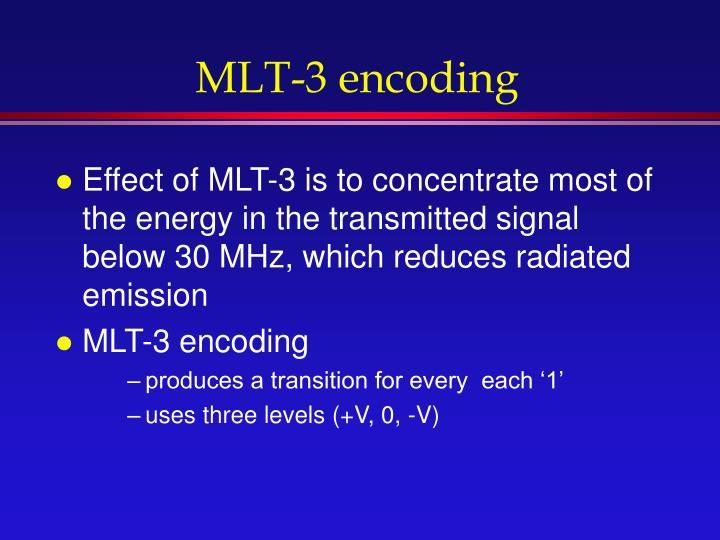 MLT-3 encoding