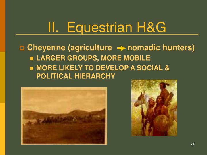 II.  Equestrian H&G