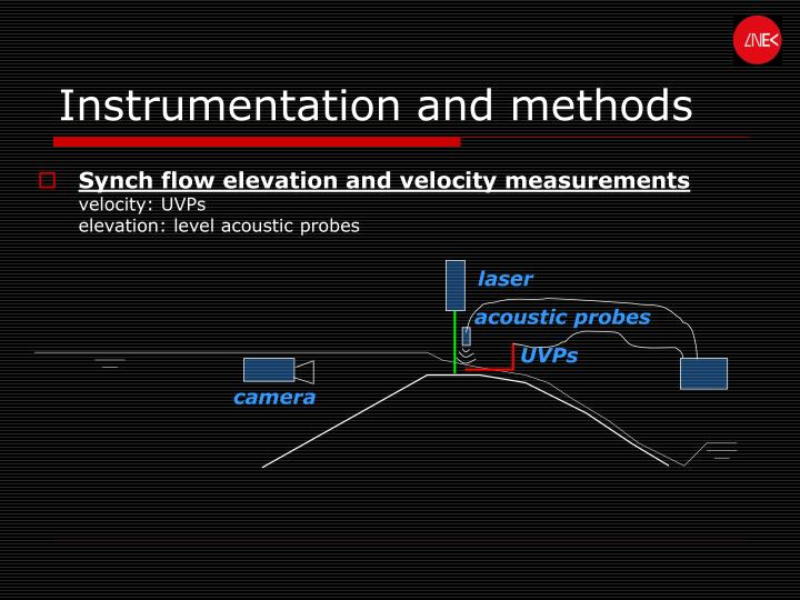 Instrumentation and methods