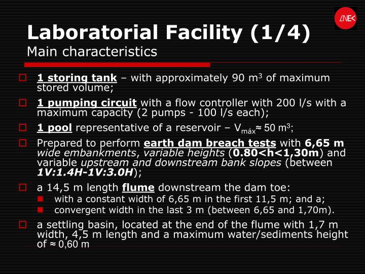 Laboratorial Facility (1/4)