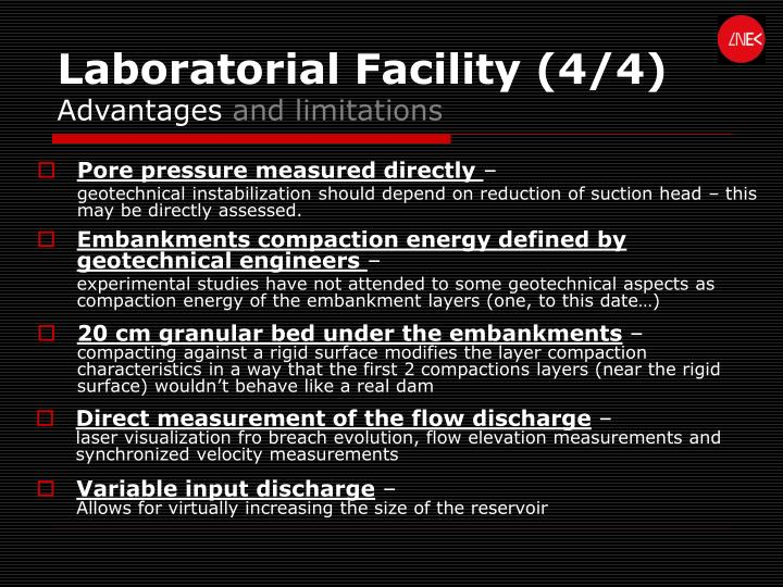 Laboratorial Facility (4/4)