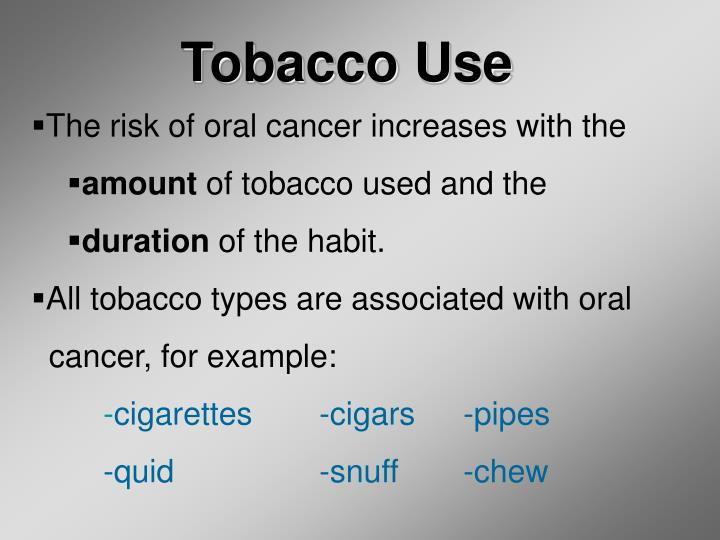 Tobacco Use