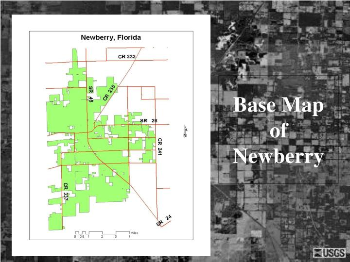 Base Map of Newberry