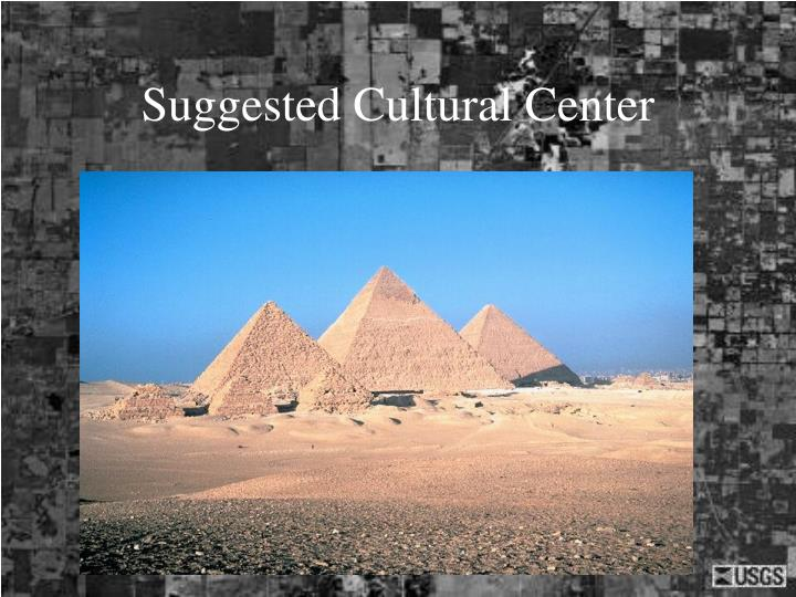 Suggested Cultural Center