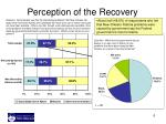 perception of the recovery2