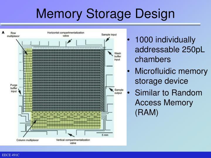 Memory Storage Design
