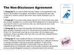 the non disclosure agreement2