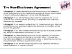 the non disclosure agreement3