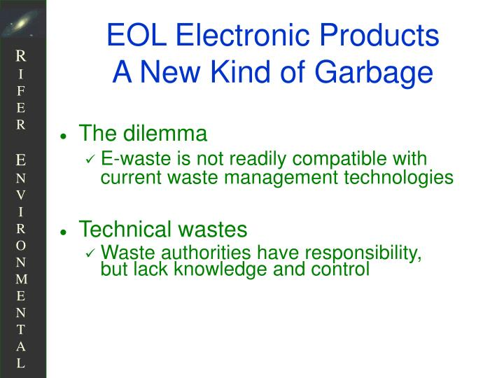 EOL Electronic Products
