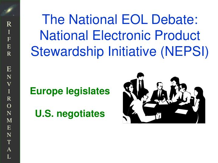 The National EOL Debate: