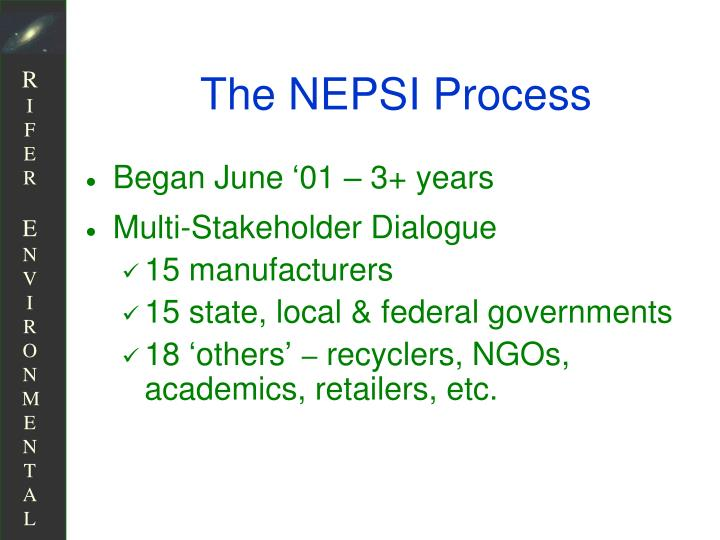 The NEPSI Process