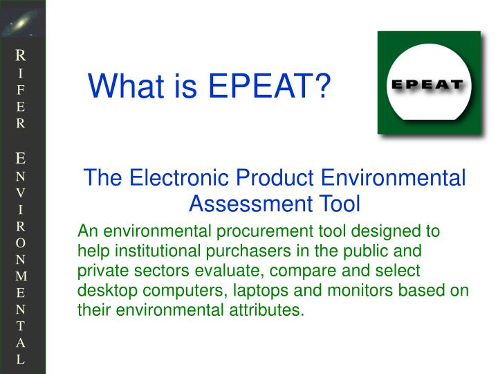 What is EPEAT?