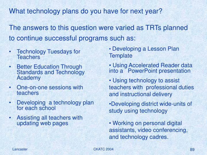 Technology Tuesdays for Teachers
