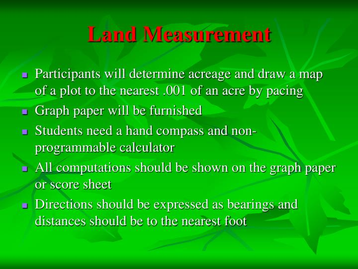 Land Measurement