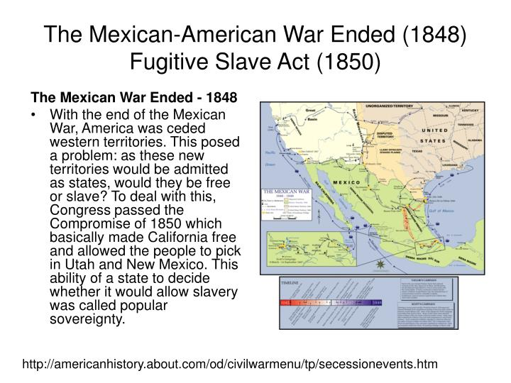 american civil war and fugitive slave Quick facts about fugitive slave act of 1850 ocw on facebook ocw on twitter ohio civil war central: encyclopedia of the american civil war about ocw project team the fugitive slave act of 1850 created a force of federal commissioners empowered to pursue fugitive slaves in any state.
