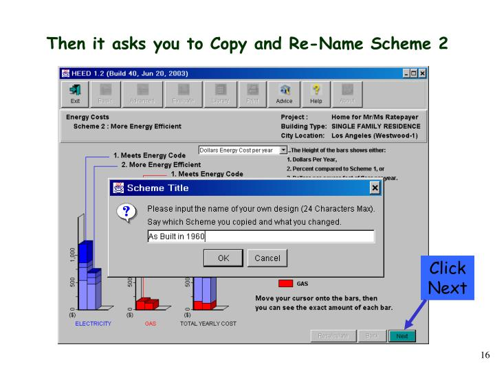 Then it asks you to Copy and Re-Name Scheme 2