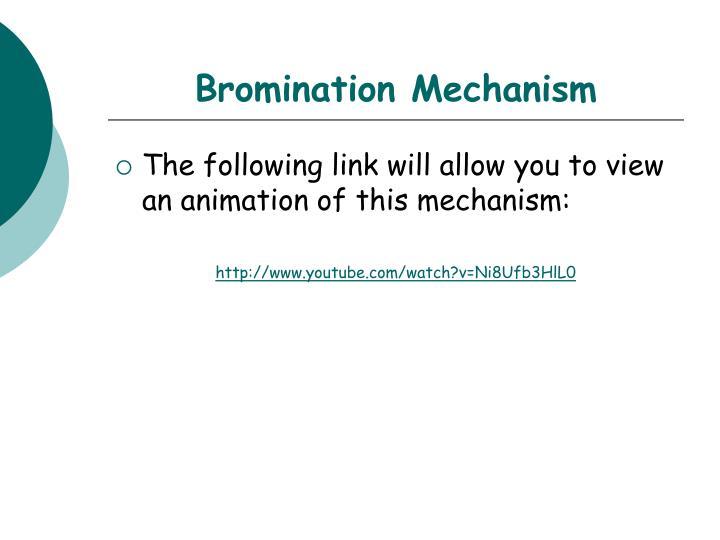Bromination Mechanism
