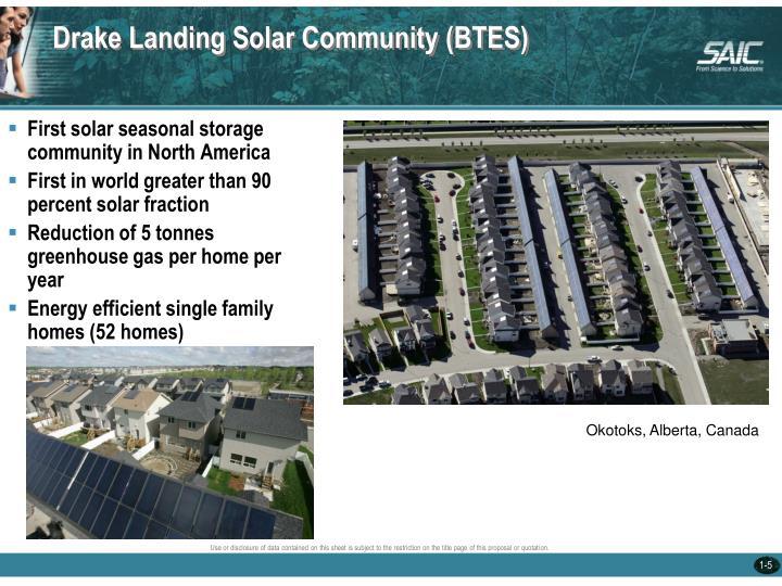 Drake Landing Solar Community (BTES)