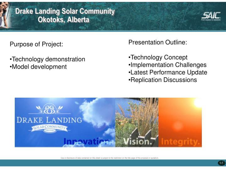 Drake Landing Solar Community