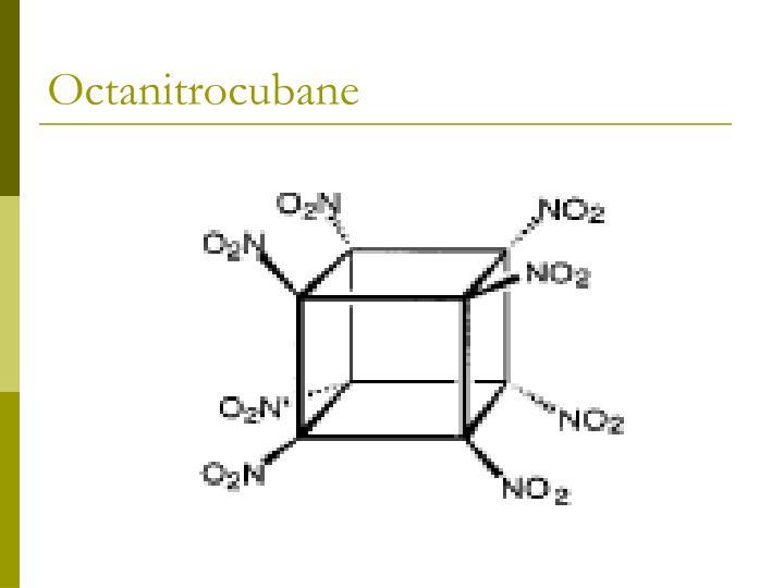 Octanitrocubane