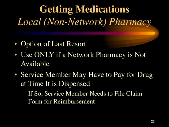 Getting Medications