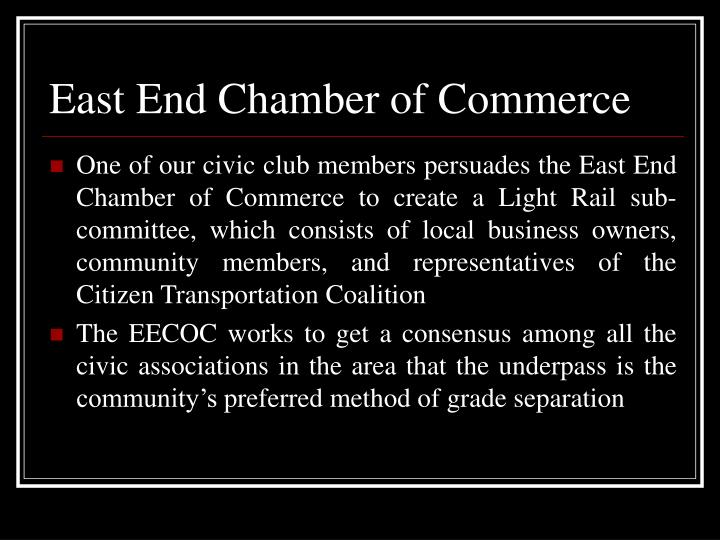 East End Chamber of Commerce