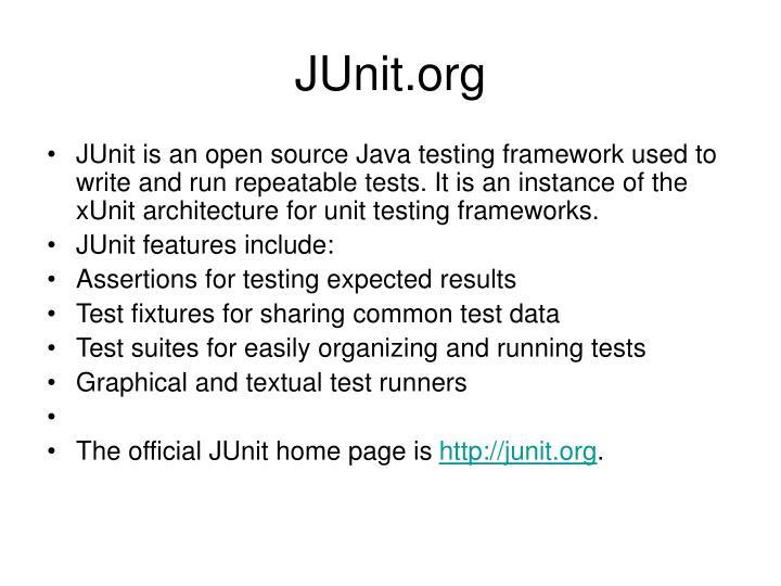 JUnit.org