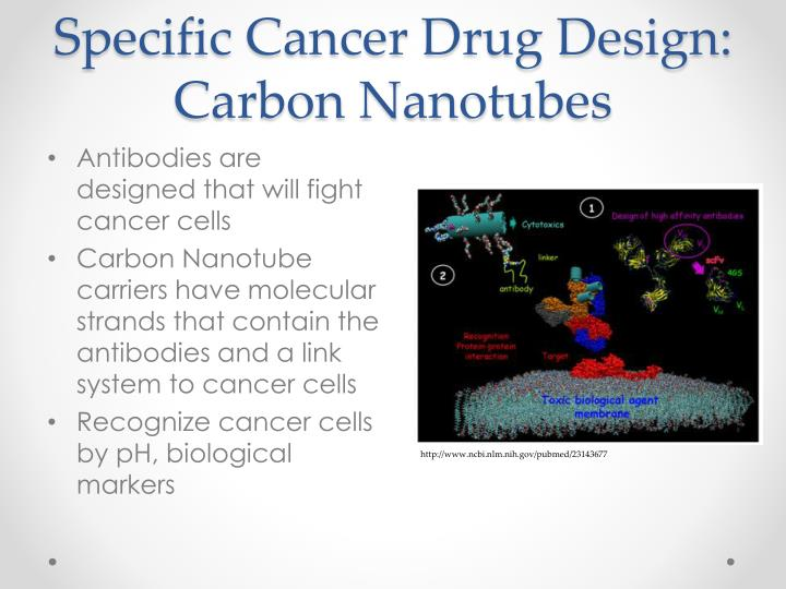 Specific Cancer Drug Design: Carbon Nanotubes