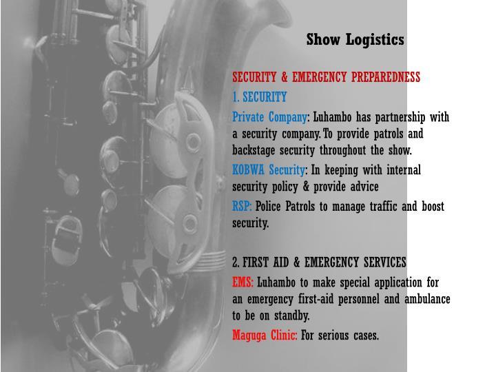 Show Logistics