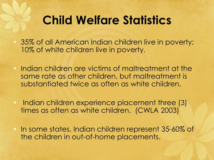 Child Welfare Statistics