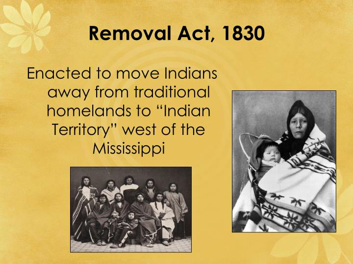 Removal Act, 1830
