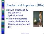 bioelectrical impedance bia2