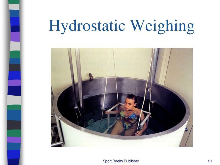 Hydrostatic Weighing