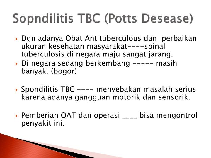 Sopndilitis