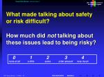 recent risk analysis communication 2