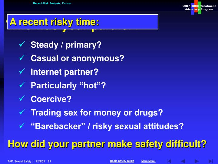 Recent Risk Analysis,