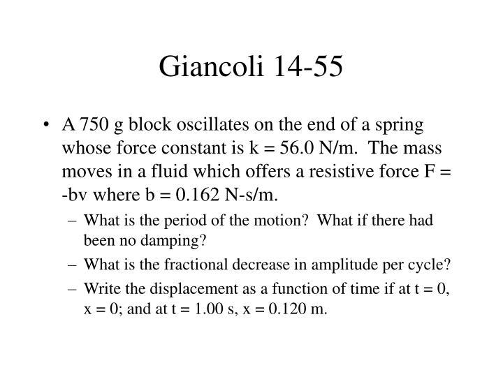 Giancoli 14-55