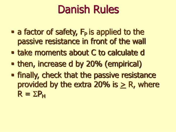 Danish Rules