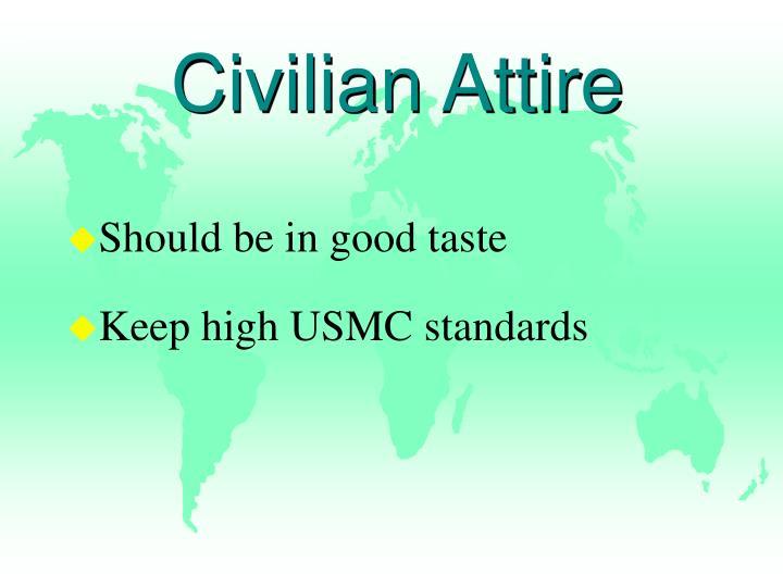 Civilian Attire