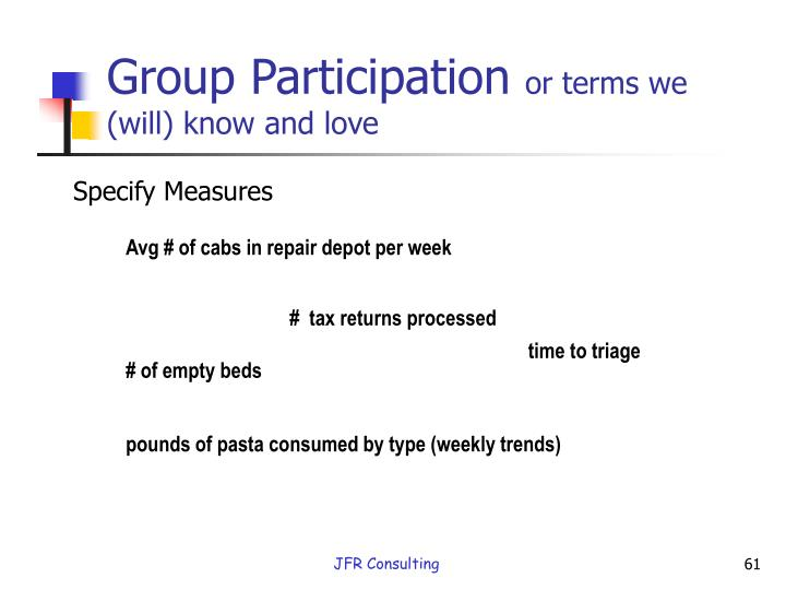 Group Participation