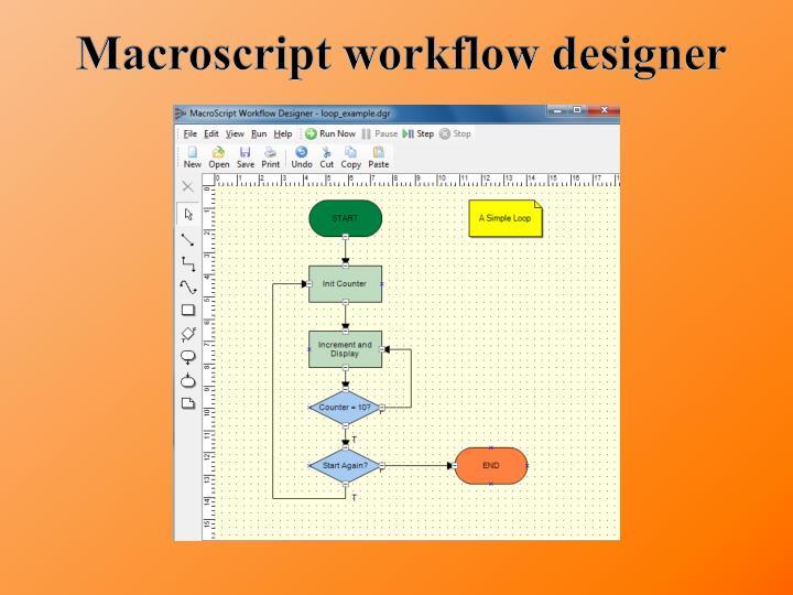 Macroscript