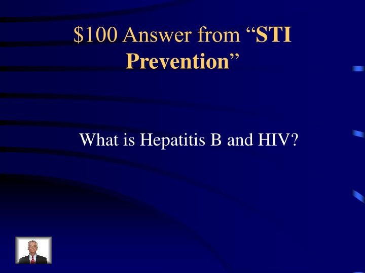 100 answer from sti prevention