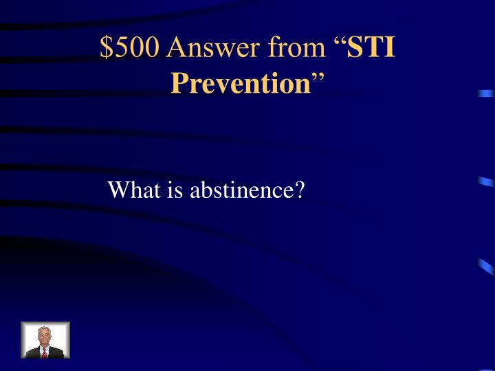 $500 Answer from ""
