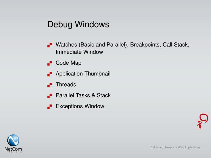 Debug Windows