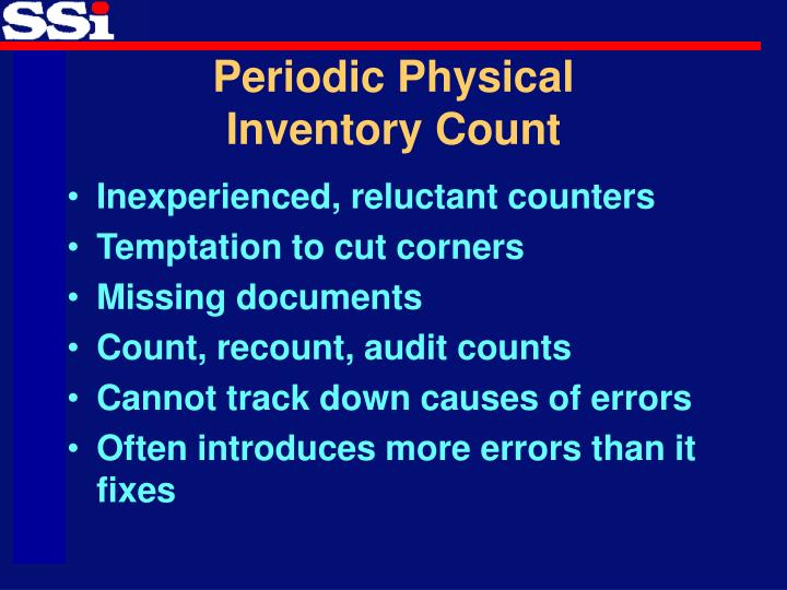ppt - cycle counting  u2013 the secret to inventory accuracy powerpoint presentation