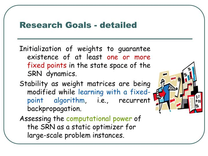 Research Goals - detailed