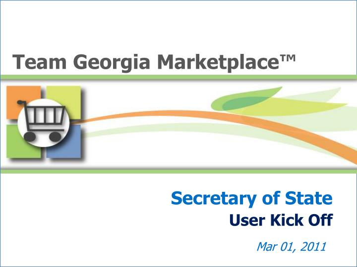 Team Georgia Marketplace™