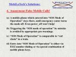 4 anonymous false mobile calls
